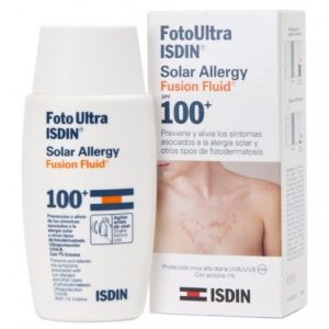 FOTO ULTRA ISDIN SOLAR ALLERGY FUSION FLUID 100+