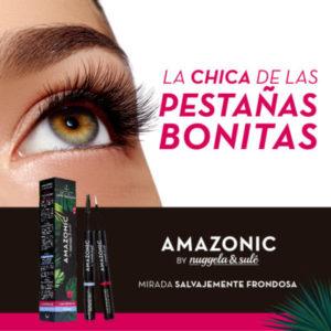 AMAZONIC Pestañas Sérum Fortalecedor + Voluminizador
